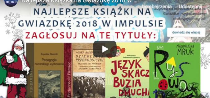 Plebiscyt: Najlepsze Książki na Gwiazdkę w Impulsie START!