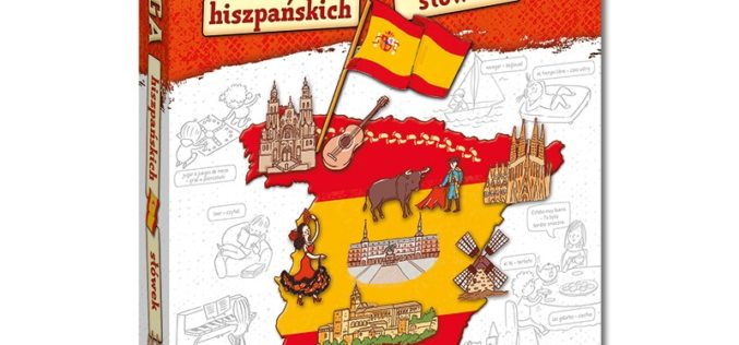 Kapitan Nauka. Księga hiszpańskich słówek (7+)