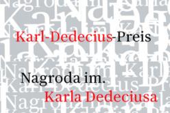 Konkurs na Nagrodę im. Karla Dedeciusa 2019