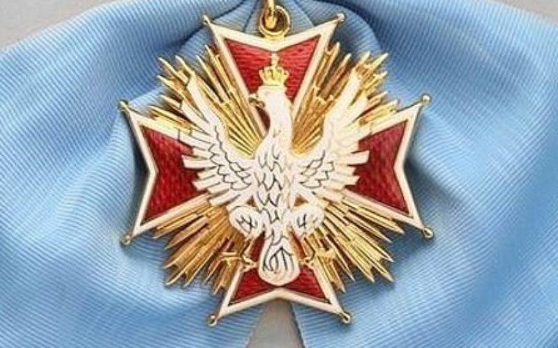 Wojciech Roszkowski odznaczony Orderem Orła Białego