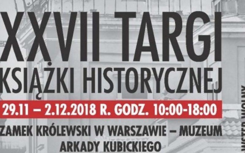 REBIS zaprasza na 27. Targi Książki Historycznej!