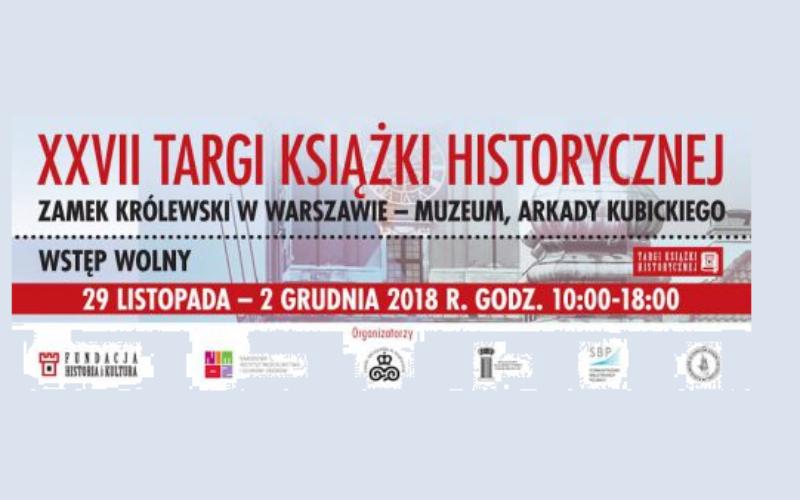 Wydawnictwo Jedność zaprasza na Targi Książki Historycznej