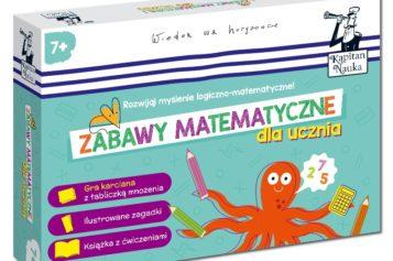 Kapitan Nauka. Zabawy matematyczne dla ucznia 7+