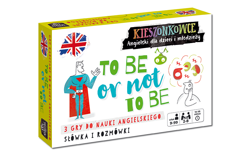 Kieszonkowce angielskie. To be or not to be (9+)