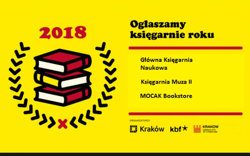 Księgarnia Roku 2018 wybrana!
