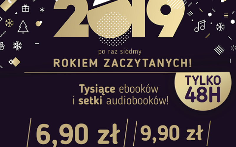 Największa promocja ebooków i audiobooków w Polsce! #ZACZYTANI2019