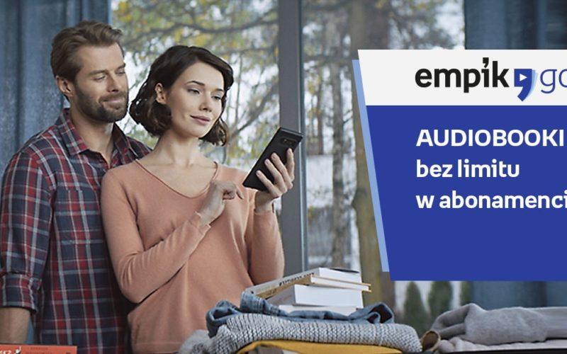 "EmpikGO z kampanią TV – ""Audiobooki bez limitu"""