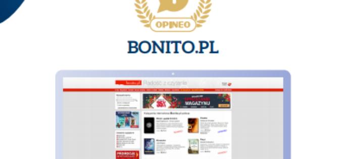 Bonito najlepszą księgarnią internetową!