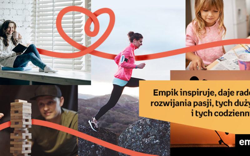Empik – nowa kampania, pozycjonowanie i magazyn online