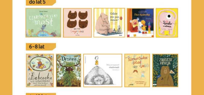 Znamy tytuły nominowane do Konkursu na Najlepszą Książkę Dziecięcą Przecinek i Kropka