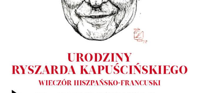 """""""Gazeta Wyborcza"""" zaprasza na Urodziny Ryszarda Kapuścińskiego"""