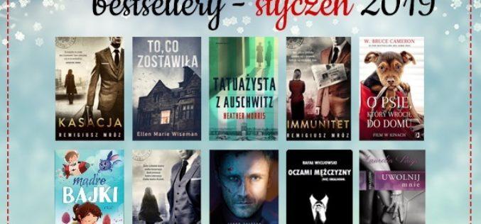 Bestsellery stycznia 2019 w TaniaKsiazka.pl