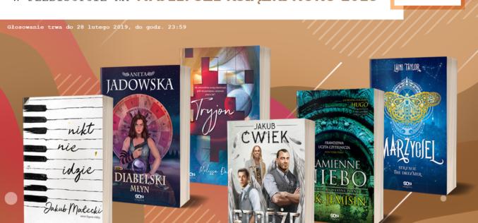 Wydawnictwo SQN zaprasza do głosowania na Najlepszą Książkę Roku 2018