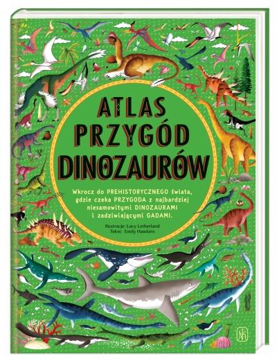Atlas przygód dinozaurów | wirtualnywydawca pl