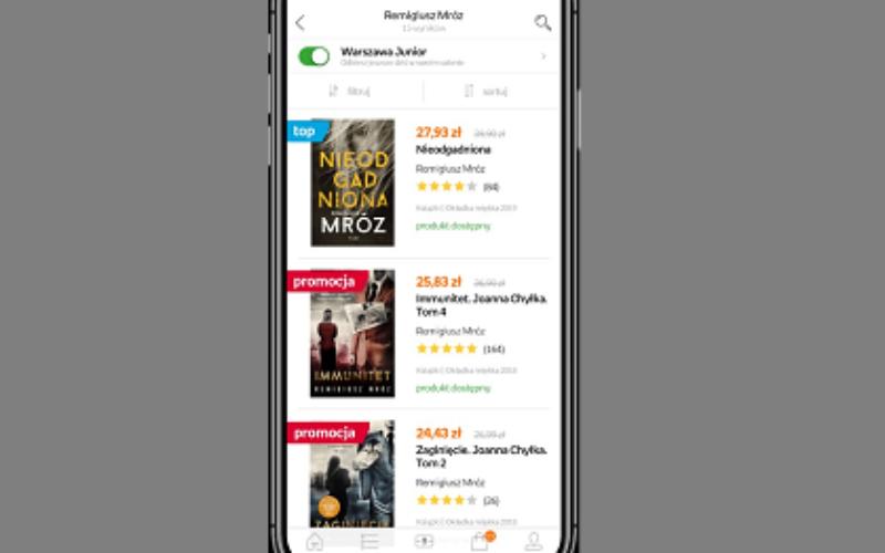 Aplikacja Empiku z dwoma nagrodami Mobile Trends Awards