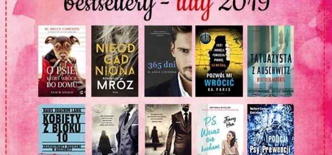 Bestsellery lutego 2019 w TaniaKsiazka.pl