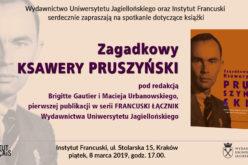 Zapraszamy na promocję książki Zagadkowy Ksawery Pruszyński