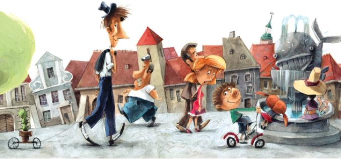 Detektyw Pozytywka trafi na mały ekran – ruszają prace nad serialem na bazie bestsellerowej serii Grzegorza Kasdepke