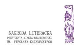 Ogłoszono nominowanych do 29. literackiej nagrody Kazaneckiego
