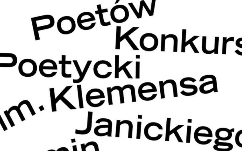 POZNAŃ POETÓW Konkurs Poetycki im. Klemensa Janickiego