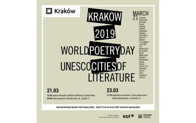 Kraków świętuje Światowy Dzień Poezji