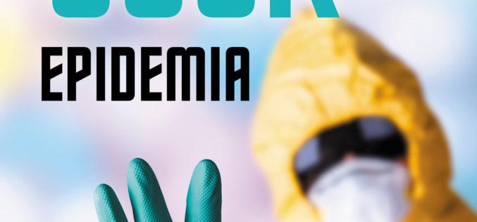 """""""EPIDEMIA"""" – nowe wydanie kultowego thrillera medycznego już 16 kwietnia w księgarniach!"""