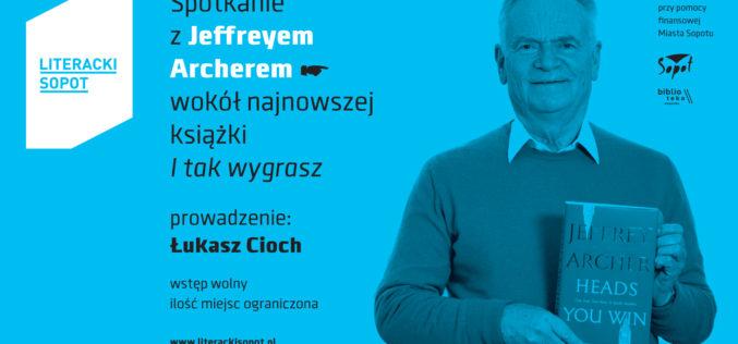 Jeffrey Archer w Sopocie już w Majówkę!