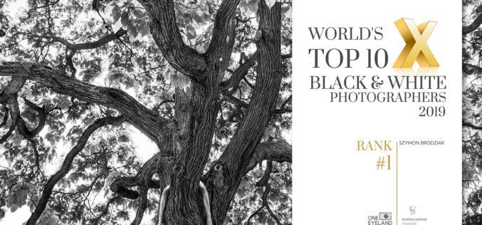 Szymon Brodziak uznany najlepszym na świecie twórcą fotografii czarno-białej