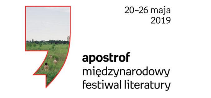 Apostrof. Międzynarodowy Festiwal Literatury – pełny program