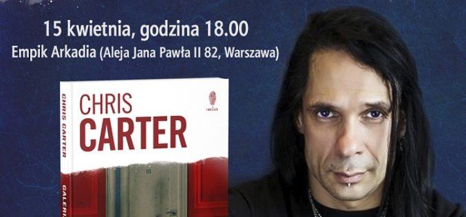 """Chris Carter w Polsce –  promuje swój najnowszy kryminał  """"Galeria umarłych"""""""