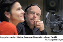 """Dorota Landowska i Mariusz Bonaszewski czytają w radiowej Dwójce """"Zdążyć przed Panem Bogiem"""" Hanny Krall"""