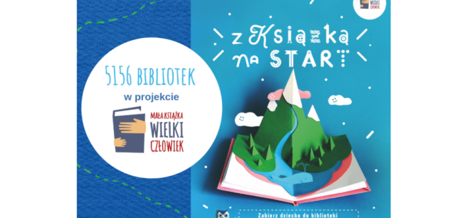 """Ponad 5 tysięcy bibliotek w przedszkolnej odsłonie kampanii """"Mała książka – wielki człowiek""""!"""