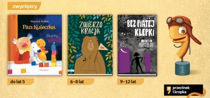 Najlepsza książka dziecięca Przecinek i Kropka 2018