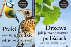 """Dwa unikatowe poradniki Ambera – """"Drzewa – jak je rozpoznawać po liściach"""" oraz """"Ptaki w ogrodzie – jak je rozpoznawać"""""""