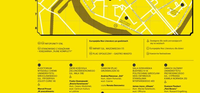 Piknik na Placu Społecznym, film, wyprzedaż książek – dodatkowe atrakcje Europejskiej Nocy Literatury