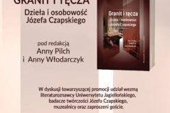 Zapraszamy promocję książki Granit i tęcza. Dzieła i osobowość Józefa Czapskiego