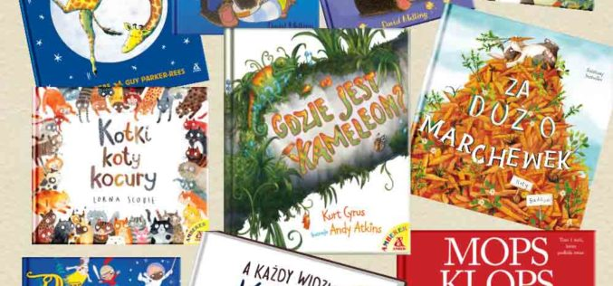 Książki z serii Amberek na Dzień Dziecka i nie tylko!