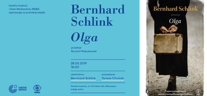 Zapraszamy na spotkanie z Bernardem Schlinkiem, autorem bestsellerowego LEKTORA oraz najnowszej OLGI