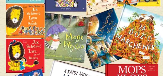 Fenomeny światowe wśród książeczek dziecięcych w Amberku!