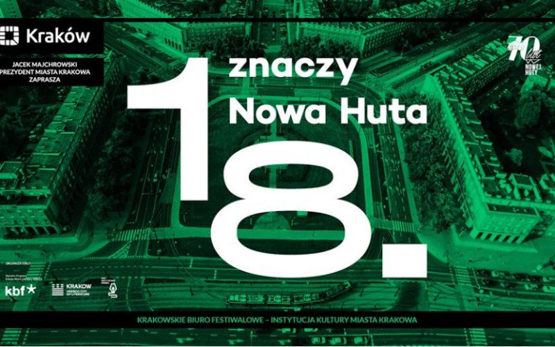"""Rusza konkurs reporterski """"18. znaczy Nowa Huta"""""""