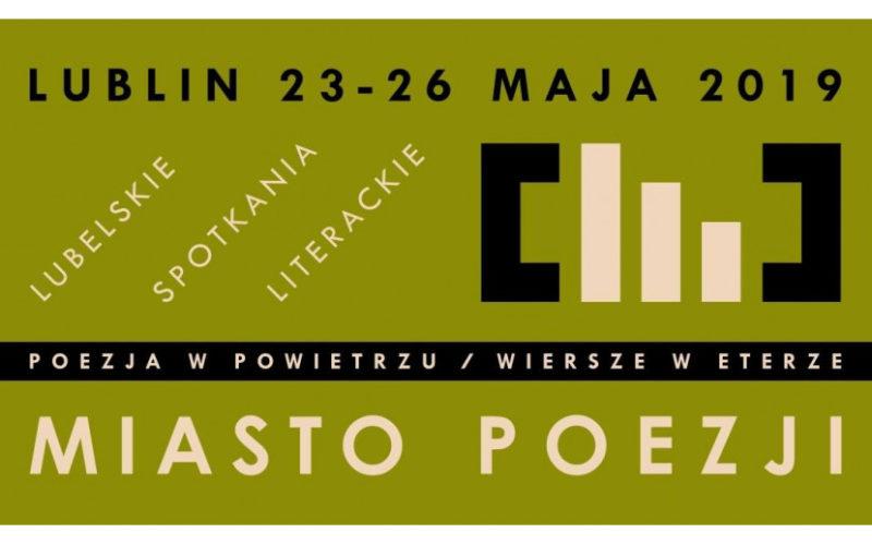"""Festiwal """"Miasto Poezji"""" od czwartku w Lublinie"""