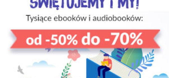 Wpadnij na Wirtualne Targi Książki. MEGA RABATY  od -50% aż do -70%