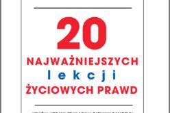 """""""20 najważniejszych lekcji życiowych prawd"""" Hala Urbana już w sprzedaży"""