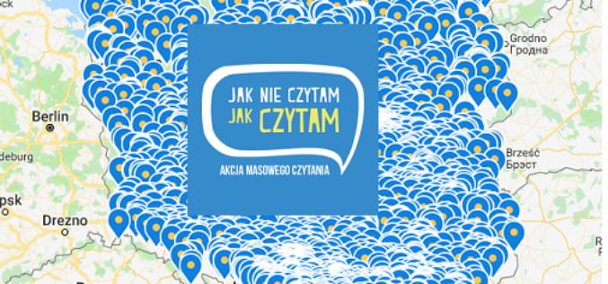 """Dzisiaj rusza IV edycja akcji """"Jak nie czytam jak czytam"""""""