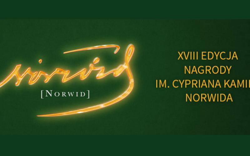 Ogłoszono nazwiska nominowanych do Nagrody Norwida