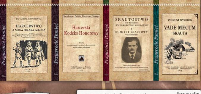 Osiem nowych reprintów harcerskich poleca Oficyna Impuls