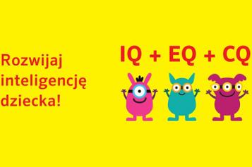 Rozwijaj inteligencję Twojego dziecka dzięki książkom z serii IQ + EQ+ CQ!
