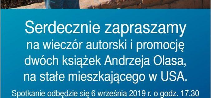 Główna Księgarnia Naukowa im. B. Prusa – Andrzej Olas. Spotkanie autorskie