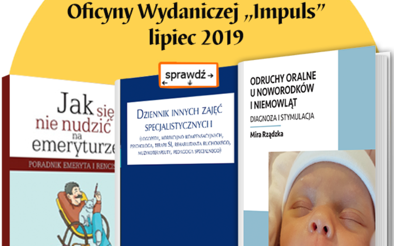 Bestsellery Oficyny Impuls – lipiec 2019