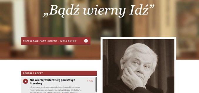 Zbigniew Zapasiewicz czyta eseje Zbigniewa Herberta w Radiowej DWÓJCE